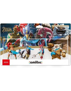 AMIIBO ZELDA BREATH OF THE WILD SET - URBOSA REVALI MIPHA DARUK