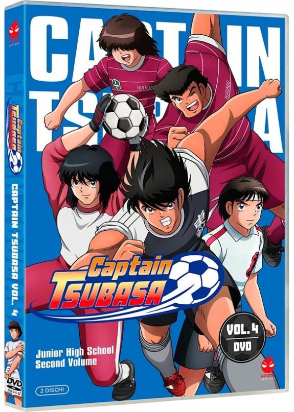 Captain Tsubasa 04 (2 Dvd)