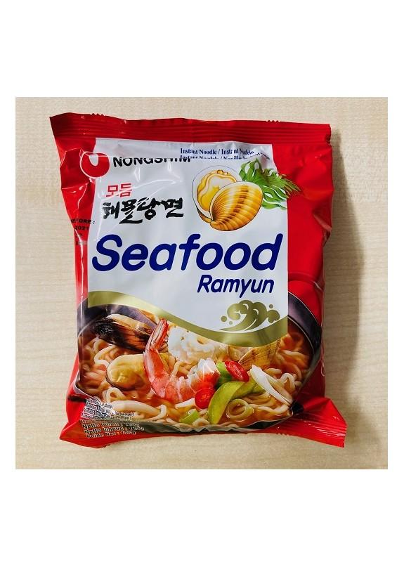 NONGSHIM AMULTANG-SEAFOOD RAMYUN NOODLE SOUP PACK 125gr