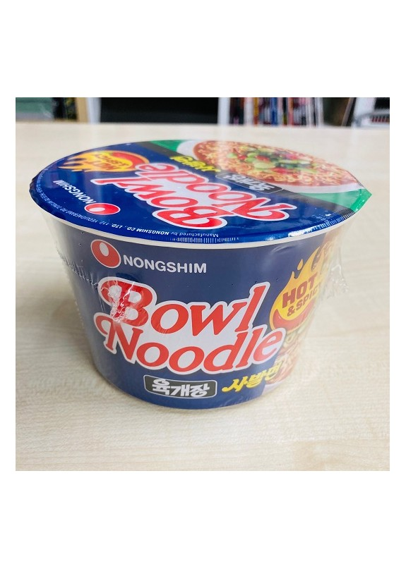 NONGSHIM BOWL HOT & SPICY NOODLES 100gr