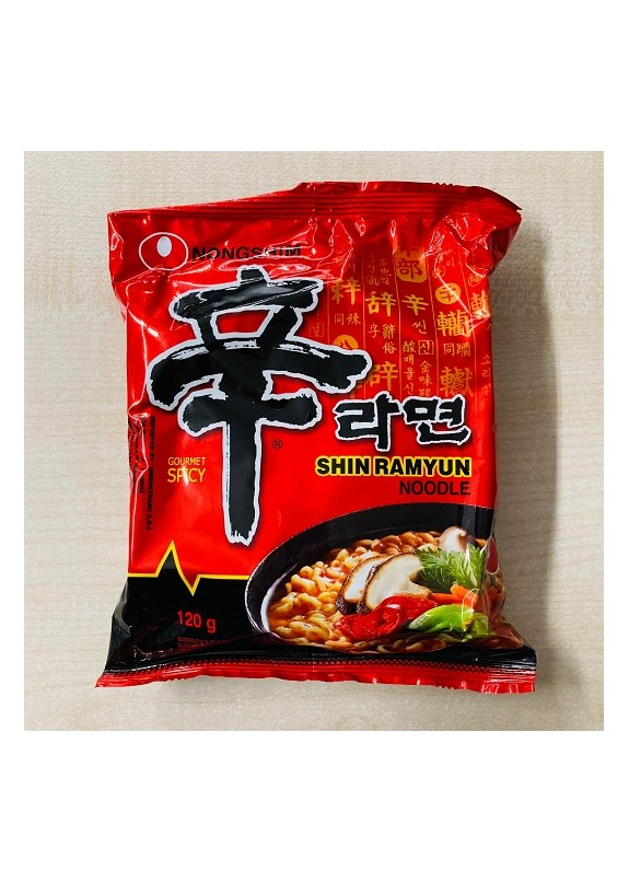 NONGSHIM SHIN SPICY RAMYUN NOODLE SOUP PACK 120gr