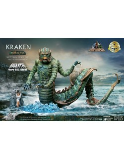 CLASH OF TITANS KRAKEN GIGANTIC DLX