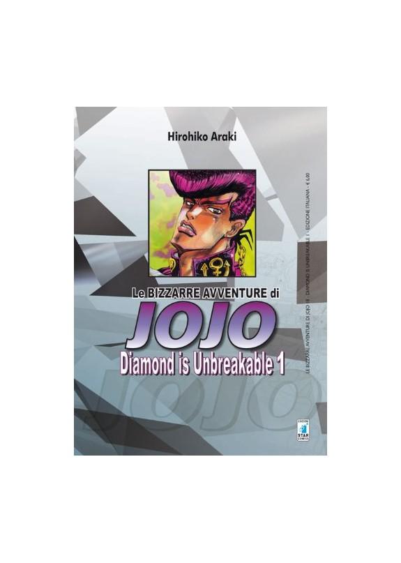 BIZZARRE AVVENTURE DI JOJO N.18 DIAMOND IS UNBREAKABLE N.1 (DI 12)