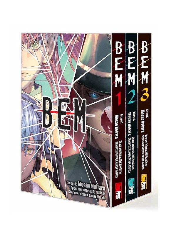 BEM BOX SERIE COMPLETA 1-3