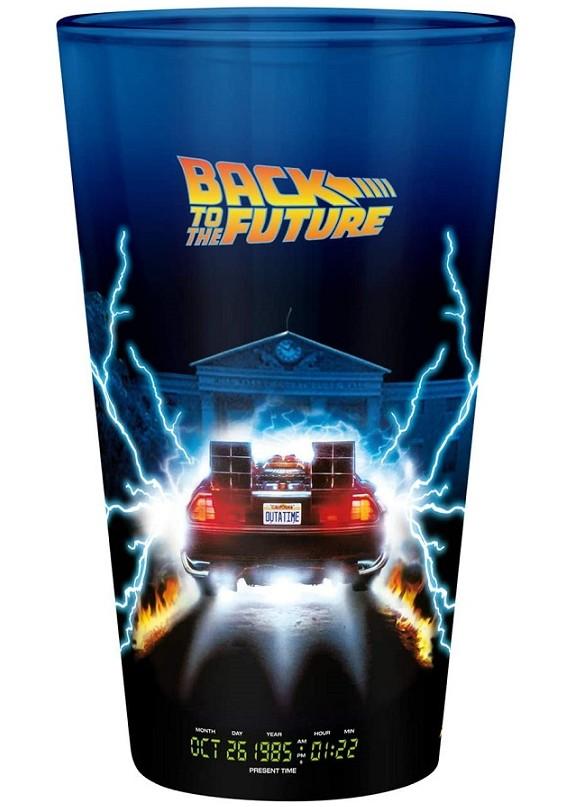 BACK TO THE FUTURE DELOREAN BICCHIERE