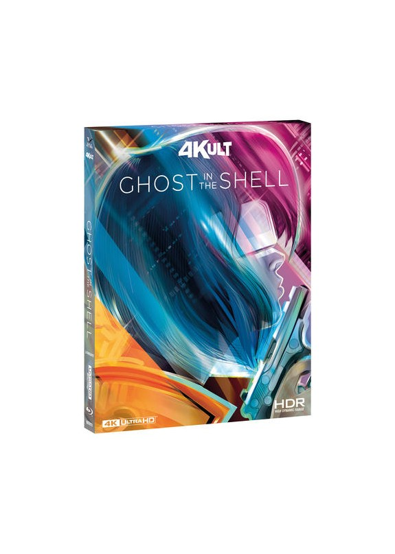 GHOST IN THE SHELL ( blu-ray 4K+blu-ray )