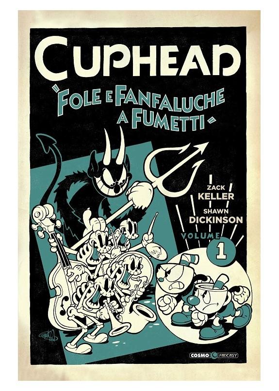 CUPHEAD FOLE E FANFALUCHE A FUMETTI N.1