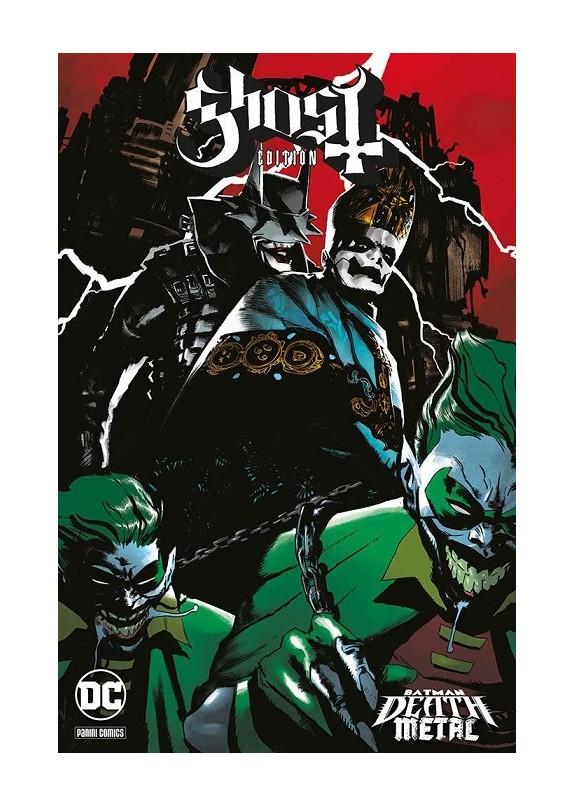 BATMAN DEATH METAL N.2 VARIANT BAND