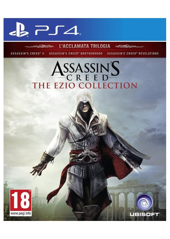 ASSASSIN'S CREED THE EZIO COLLECTION  PS4  usato