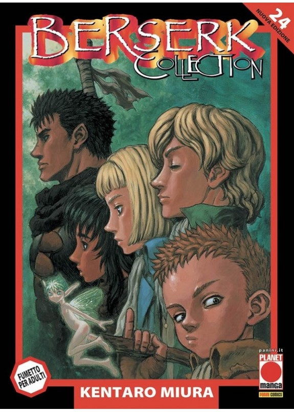 BERSERK COLLECTION SERIE NERA N.24(RIST)