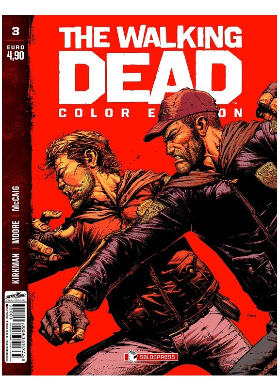 THE WALKING DEAD COLOR EDITION N.3