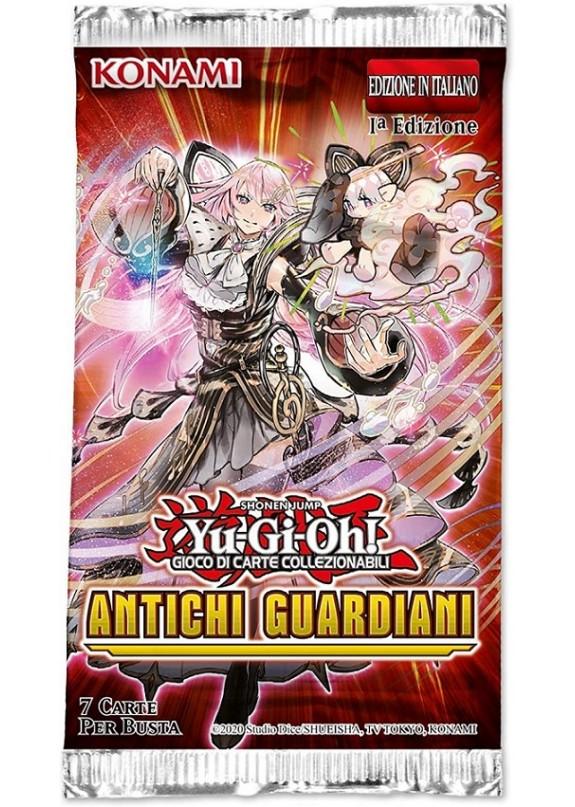 YU-GI-OH! ANTICHI GUARDIANI  BUSTINA 5 CARTE