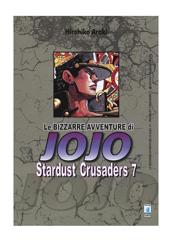 BIZZARRE AVVENTURE DI JOJO N.14 STARDUST CRUSADERS N.7 (DI 10)