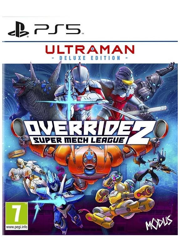 OVERRIDE 2 SUPER MECH LEAGUE ULTRAMAN DELUXE EDITION  PS5