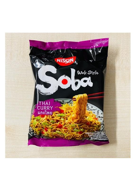 NISSIN BAG SOBA THAI CHURRY 110g