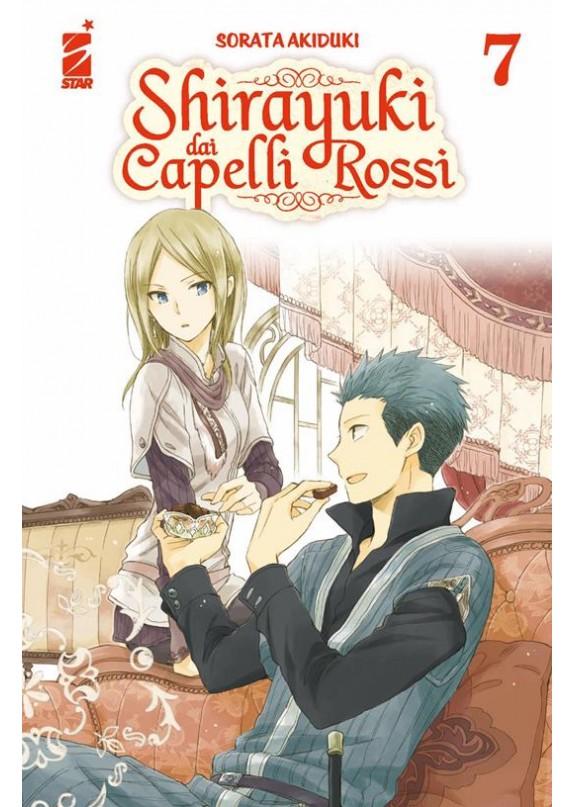 SHIRAYUKI DAI CAPELLI ROSSI N.7