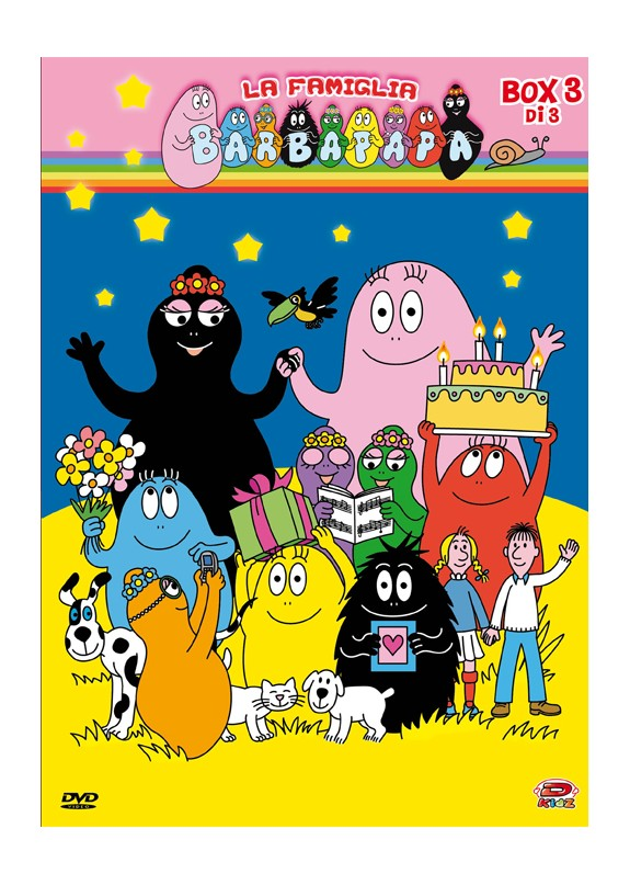 BARBAPAPA BOX 03 DVD
