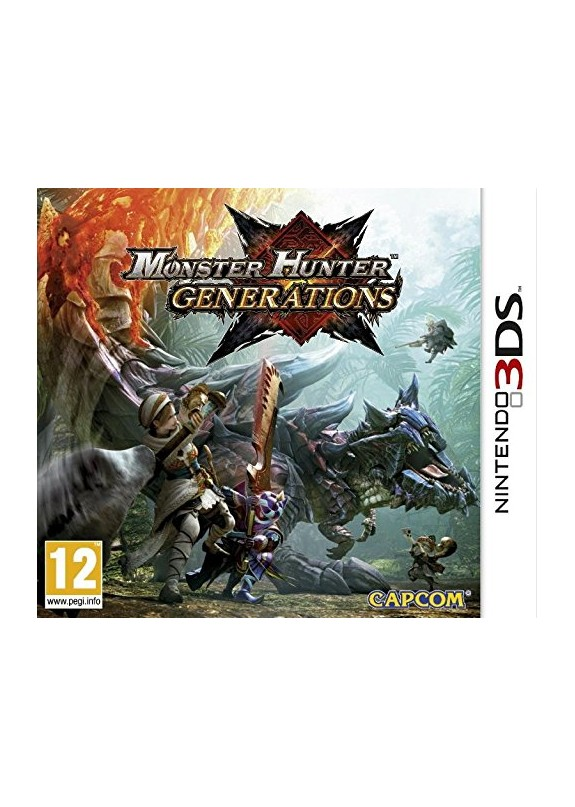 MONSTER HUNTER GENERATIONS 3DS