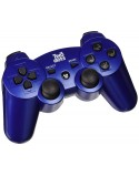 CONTROLLER PRO PAD BLUETOOTH BLUE TWO DOTS PS3
