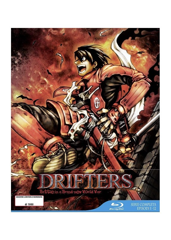DRIFTERS ( serie completa limited ed. ) BLU-RAY