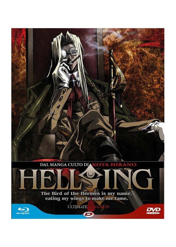 HELSING ULTIMATE 02 OAV 3/4 BLU-RAY+ DVD