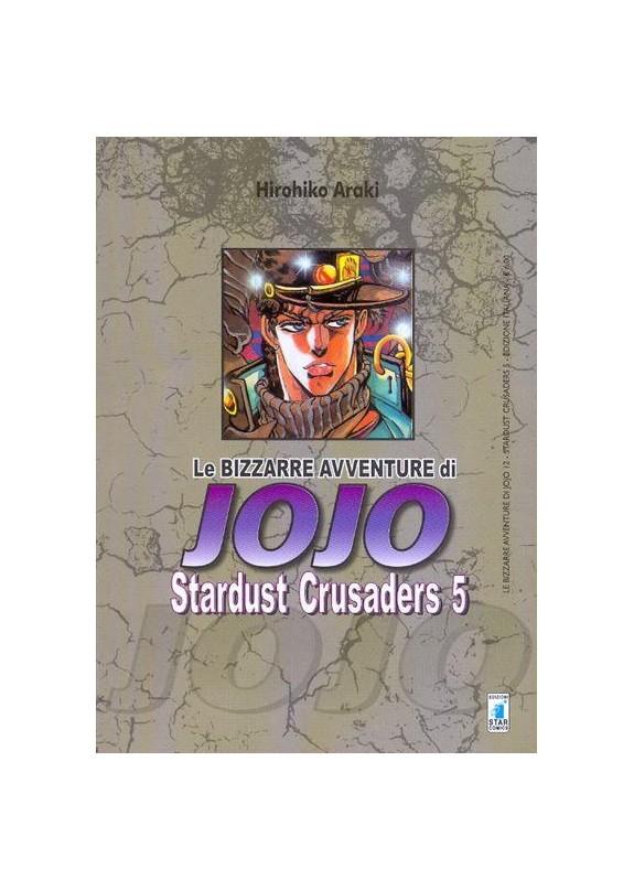 BIZZARRE AVVENTURE DI JOJO N.12 STARDUST CRUSADERS N.5 (DI 10)