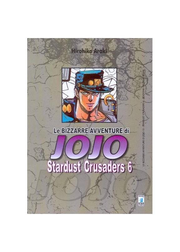 BIZZARRE AVVENTURE DI JOJO N.13 STARDUST CRUSADERS N.6 (DI 10)