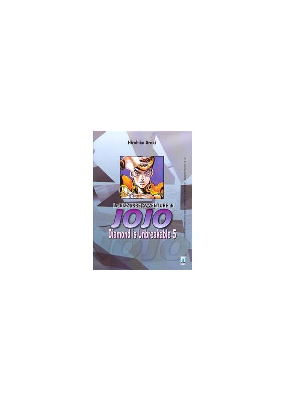 BIZZARRE AVVENTURE DI JOJO N.22 DIAMOND IS UNBREAKABLE N.5 (DI 12)