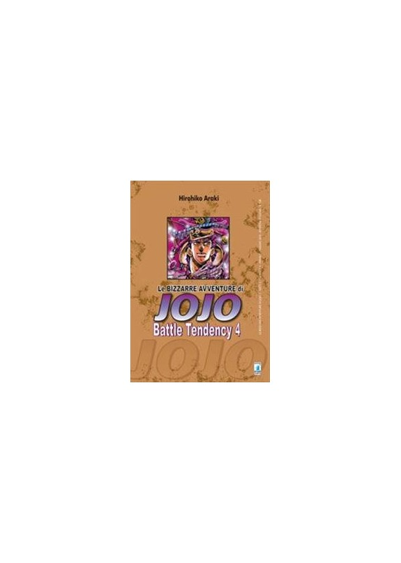 BIZZARRE AVVENTURE DI JOJO N.7 BATTLE TENDENCY N.4 (DI 4)