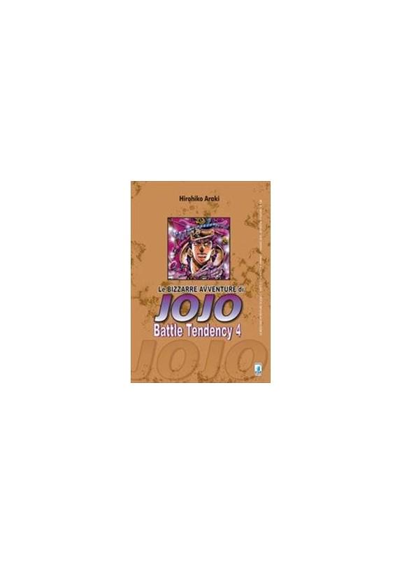 BIZZARRE AVVENTURE DI JOJO N.7 BATTLE TENDENCY N.4 (DI 4)