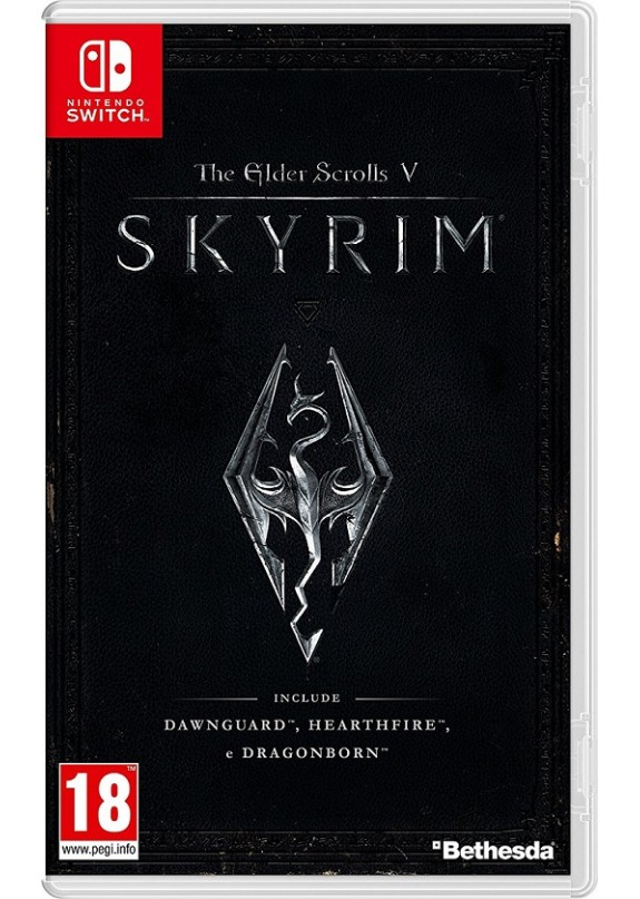 THE ELDER SCROLLS V SKYRIM NINTENDO SWITCH