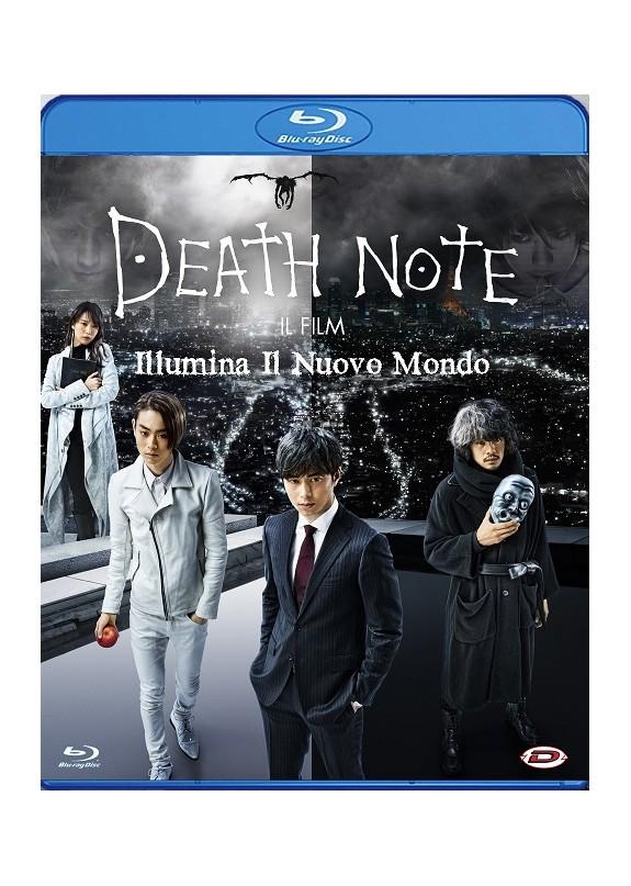 DEATH NOTE - IL FILM - ILLUMINA IL NUOVO MONDO  Blu-ray