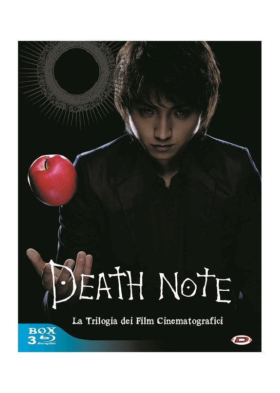 DEATH NOTE - LA TRILOGIA DEI FILM CINEMATOGRAFICI  3 Blu-ray