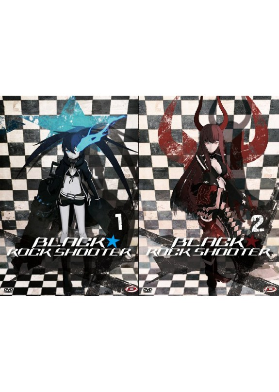 BLACK ROCK SHOOTER SERIE COMPLETA BLU RAY+ DVD