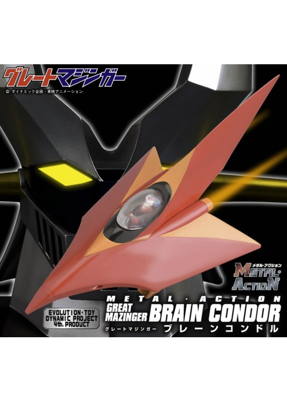 BRAIN CONDOR GRERAT MAZINGER METAL ACTION EVOLUTION TOY