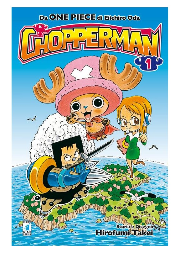 CHOPPERMAN N.1 (DI 5)