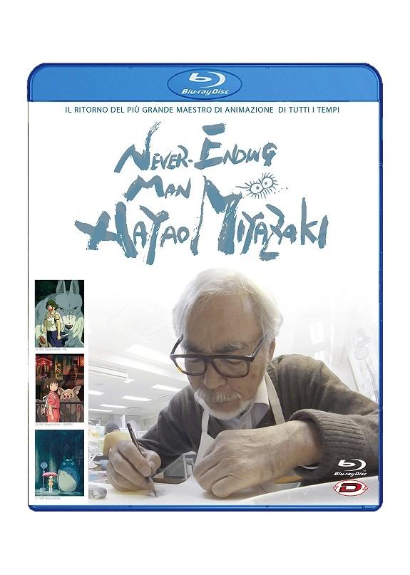 Never-Ending Man: Hayao Miyazaki BLU-RAY
